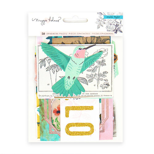 Exclusive Crate Paper - Flourish Collection - Premium Ephemera with Glitter Accents