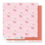 Exclusive Crate Paper - Flourish Collection - 12 x 12 Double Sided Paper - Unforgettable