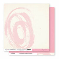 Exclusive Crate Paper - Flourish Collection - 12 x 12 Double Sided Paper - Noble