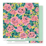 Exclusive Crate Paper - Flourish Collection - 12 x 12 Double Sided Paper - Maidenhair