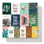 Crate Paper - Wild Heart Collection - 12 x 12 Double Sided Paper - Wildly