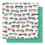 Crate Paper - Wild Heart Collection - 12 x 12 Double Sided Paper - Daze
