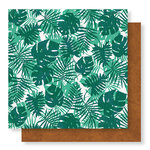 Crate Paper - Wild Heart Collection - 12 x 12 Double Sided Paper - Paradise