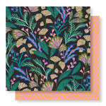 Crate Paper - Wild Heart Collection - 12 x 12 Double Sided Paper - Jungle