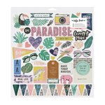 Crate Paper - Wild Heart Collection - Chipboard Stickers with Holographic Foil Accents