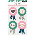 Crate Paper - Wild Heart Collection - Standouts with Foil Accents