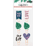 Crate Paper - Wild Heart Collection - Epoxy Paper Clips