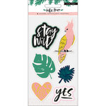 Crate Paper - Wild Heart Collection - Embossed Puffy Stickers