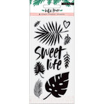 Crate Paper - Wild Heart Collection - Clear Acrylic Stamps