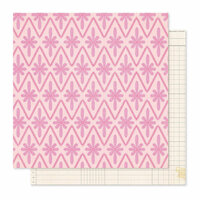 Crate Paper - Willow Lane Collection - 12 x 12 Double Sided Paper - Adore