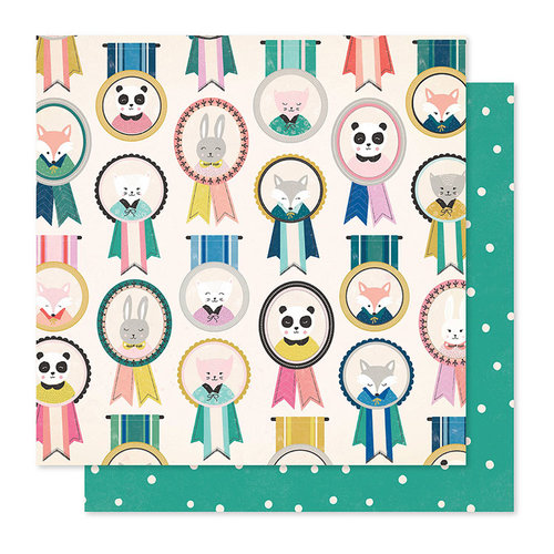 Crate Paper - Willow Lane Collection - 12 x 12 Double Sided Paper - Friendship