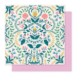 Crate Paper - Willow Lane Collection - 12 x 12 Double Sided Paper - Sentiment