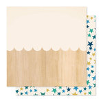 Crate Paper - Willow Lane Collection - 12 x 12 Double Sided Paper - Darling