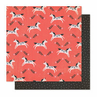 Crate Paper - Willow Lane Collection - 12 x 12 Double Sided Paper - Frolic