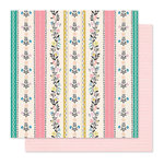 Crate Paper - Willow Lane Collection - 12 x 12 Double Sided Paper - Bright Days
