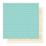 Crate Paper - Willow Lane Collection - 12 x 12 Double Sided Paper - Together