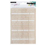 Crate Paper - Willow Lane Collection - Rub Ons