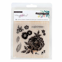 Crate Paper - Willow Lane Collection - Clear Acrylic Stamps
