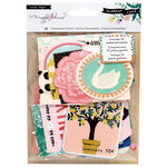 Crate Paper - Willow Lane Collection - Ephemera with Embossed Accents