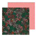 Crate Paper - Merry Days Collection - Christmas - 12 x 12 Double Sided Paper - Sugar Plums