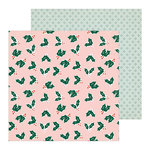 Crate Paper - Merry Days Collection - Christmas - 12 x 12 Double Sided Paper - Merrily
