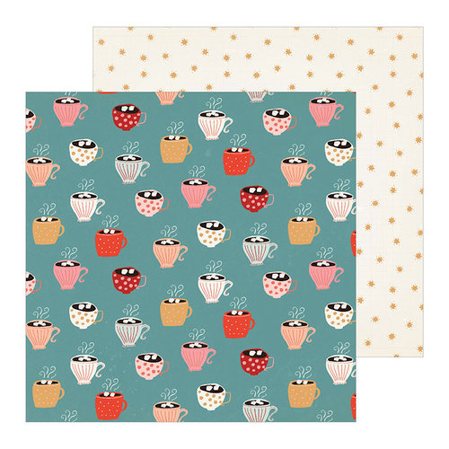 Crate Paper - Merry Days Collection - Christmas - 12 x 12 Double Sided Paper - Peace