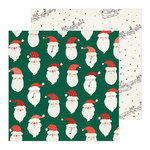 Crate Paper - Merry Days Collection - Christmas - 12 x 12 Double Sided Paper - Believe