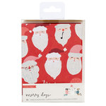 Crate Paper - Merry Days Collection - Christmas - Card Set with Glitter Accents