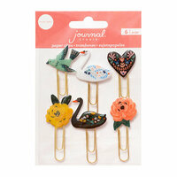 Crate Paper - Journal Studio Collection - Paper Clips - Swan