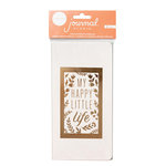Crate Paper - Journal Studio Collection - Journal Insert - Happy Life with Foil Accents