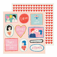 Crate Paper - La La Love Collection - 12 x 12 Double Sided Paper - My Guy