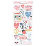 Crate Paper - La La Love Collection - Cardstock Stickers