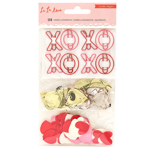 Crate Paper - La La Love Collection - Small Embellishments