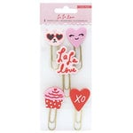 Crate Paper - La La Love Collection - Rubber Paper Clips