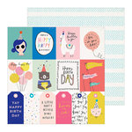 Crate Paper - Hooray Collection - 12 x 12 Double Sided Paper - For You