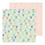 Crate Paper - Hooray Collection - 12 x 12 Double Sided Paper - Yay