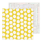 Crate Paper - Hooray Collection - 12 x 12 Double Sided Paper - Frosted