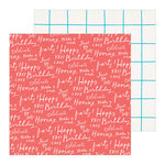Crate Paper - Hooray Collection - 12 x 12 Double Sided Paper - Cheers
