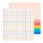 Crate Paper - Hooray Collection - 12 x 12 Double Sided Paper - Birthday Girl