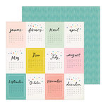 Crate Paper - Hooray Collection - 12 x 12 Double Sided Paper - Happy Day