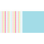 American Crafts - Spring and Summer Collection - 12x12 Double Sided Paper - Shortbread, CLEARANCE