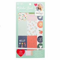 American Crafts - Sticker Book with Foil Accents - Dear Lizzy