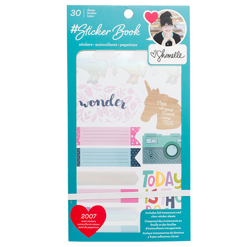 American Crafts - Sticker Book with Foil Accents - Shimelle