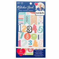American Crafts - Sticker Book with Foil Accents - Vicki Boutin