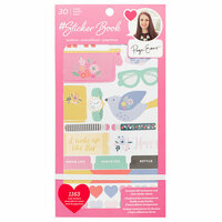 American Crafts - Sticker Book with Foil Accents - Paige Evans