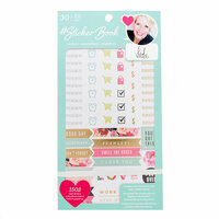 American Crafts - Sticker Book with Foil Accents - Heidi Swapp