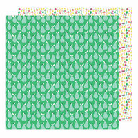 American Crafts - Sunshine and Good Times Collection - 12 x 12 Double Sided Paper - Perfect Pear