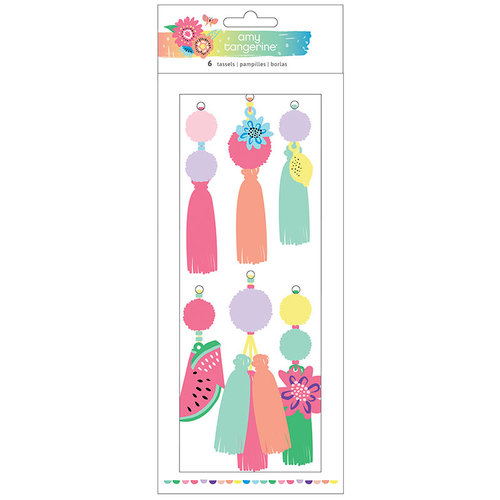 American Crafts - Sunshine and Good Times Collection - Tassels