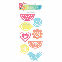 American Crafts - Sunshine and Good Times Collection - Paper Clips