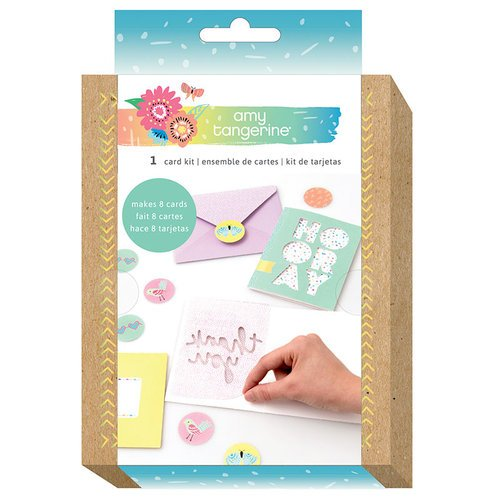 American Crafts - Sunshine and Good Times Collection - Card Kit